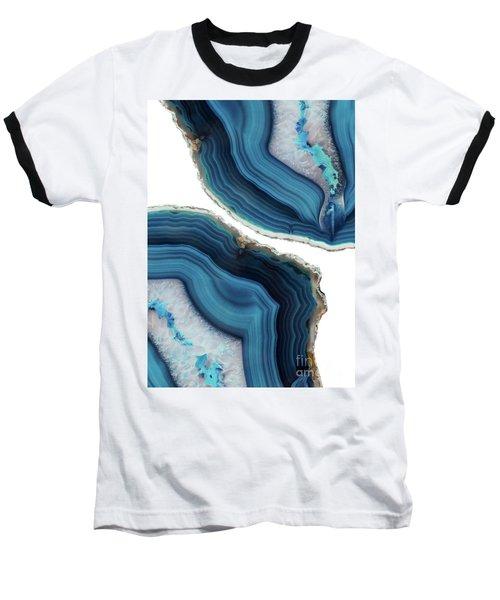 Blue Agate Baseball T-Shirt