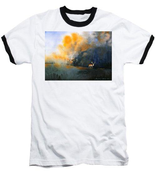 Blue And Orange Baseball T-Shirt