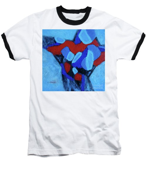 Blue And Red Baseball T-Shirt