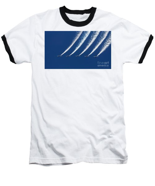 Blue Angels Formation Baseball T-Shirt