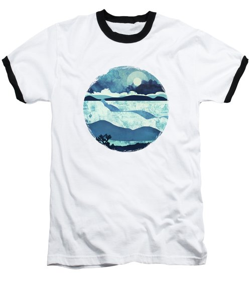 Blue Desert Baseball T-Shirt