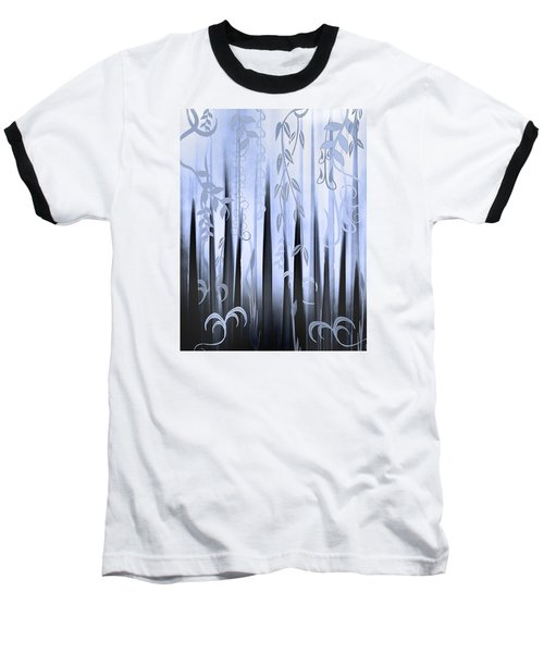 Blue Forest Baseball T-Shirt by Deborah Smith