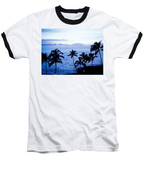Blue Hawaii Baseball T-Shirt