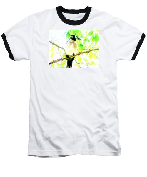 Blue Jay IIi Baseball T-Shirt by Clarice  Lakota