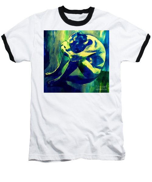 Blue Mood Baseball T-Shirt