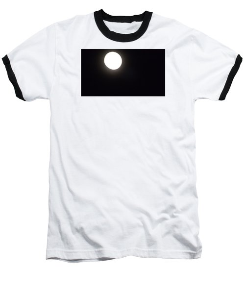 Baseball T-Shirt featuring the photograph Blue Moon In July by Don Koester