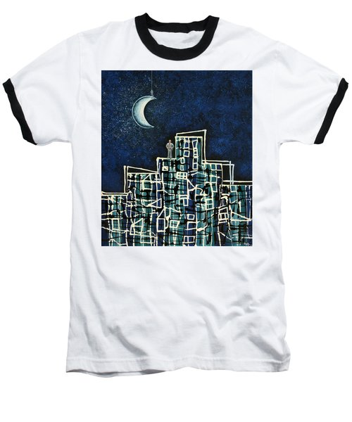 Blue Night Baseball T-Shirt