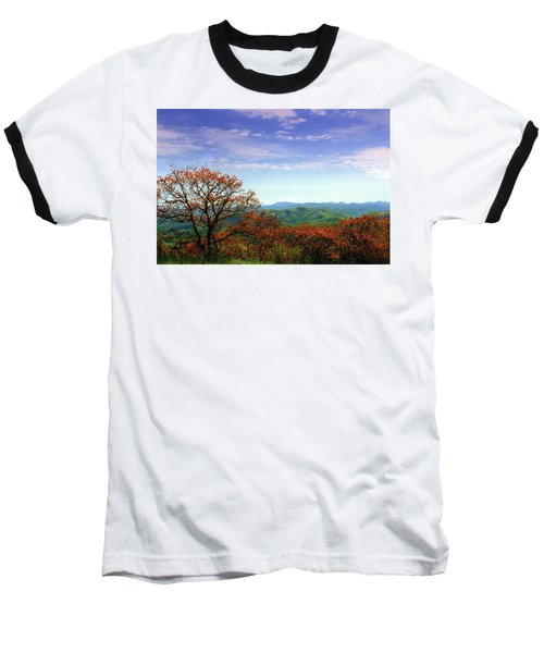 Baseball T-Shirt featuring the photograph Blue Ridge Blessing by Jessica Brawley