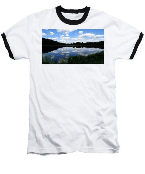 Blue Skies At Cadiz Springs Baseball T-Shirt by Kimberly Mackowski