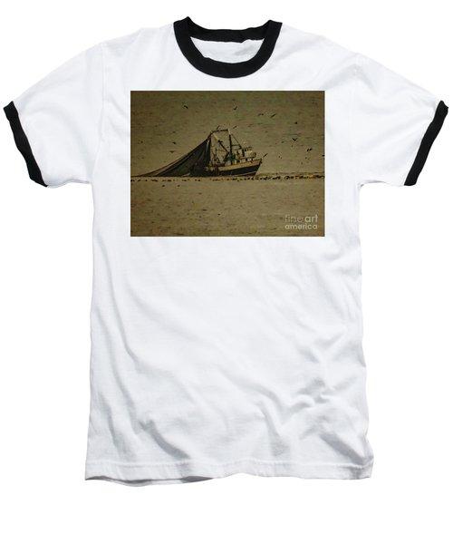 Blue Trawler 2 Baseball T-Shirt