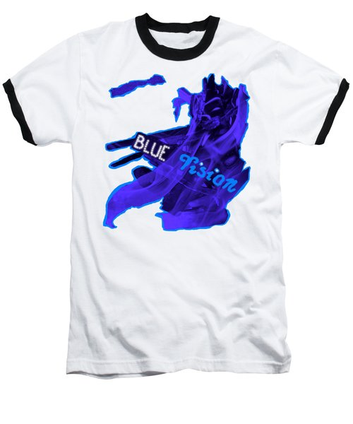 Blue Vision Baseball T-Shirt