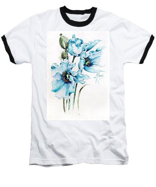 Blue Wind Baseball T-Shirt