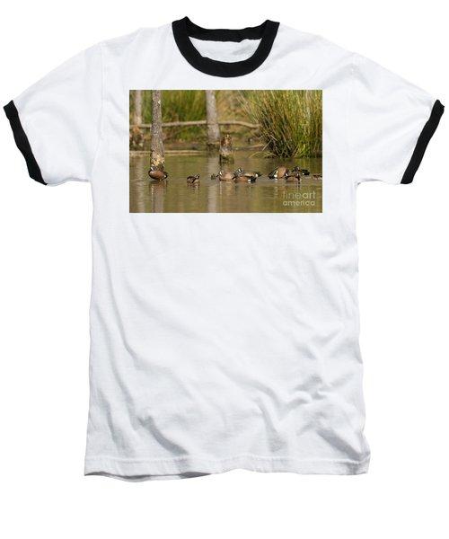Blue-winged Teal Baseball T-Shirt