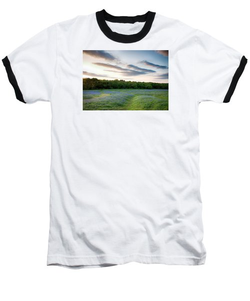 Bluebonnet Trail Ennis Texas 2015 V5 Baseball T-Shirt