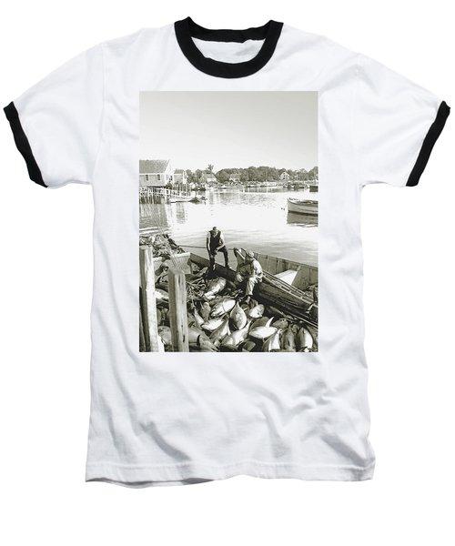 Bluefin Tuna At Barnstable Harbor Baseball T-Shirt