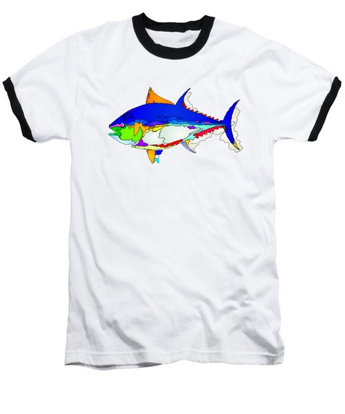 Bluefin Tuna  Baseball T-Shirt