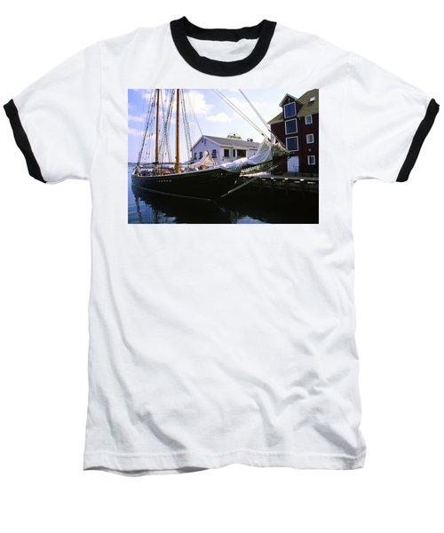 Bluenose II At Historic Properties Halifax Nova Scotia Baseball T-Shirt