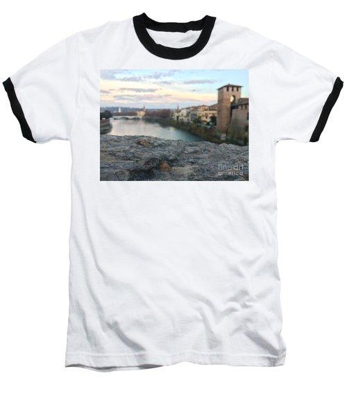 Blurred Verona Baseball T-Shirt