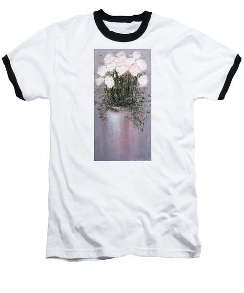 Blush - Original Artwork Baseball T-Shirt