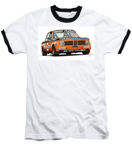 Bmw 2002 Alpina Illustration Baseball T-Shirt
