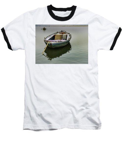 boat at Ganges Baseball T-Shirt