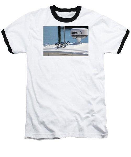Boat Business Baseball T-Shirt by Jewels Blake Hamrick