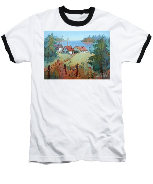 Boat Dock Baseball T-Shirt