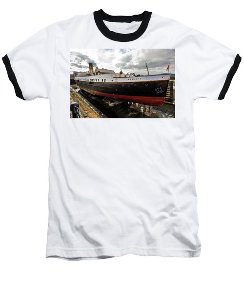 Boat In Drydock Baseball T-Shirt