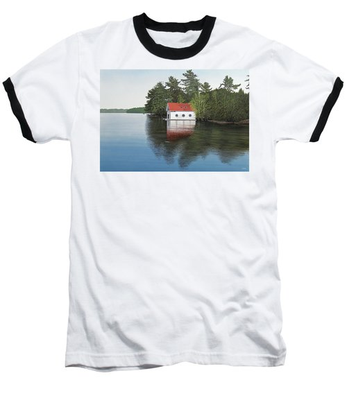 Boathouse Baseball T-Shirt by Kenneth M  Kirsch