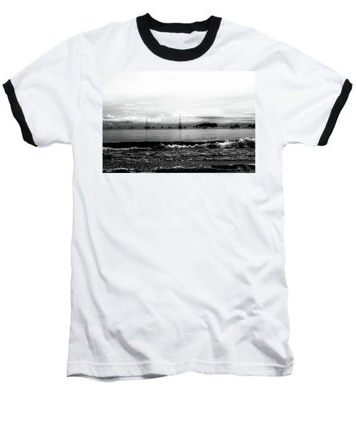 Boats And Clouds Baseball T-Shirt