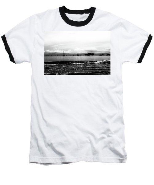 Boats And Clouds Baseball T-Shirt
