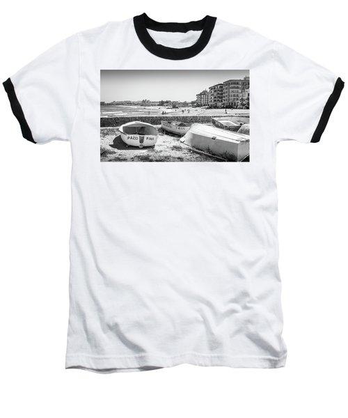Boats On The Beach Baseball T-Shirt