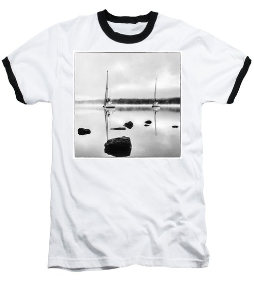Boats On Ullswater In The Lake District Baseball T-Shirt