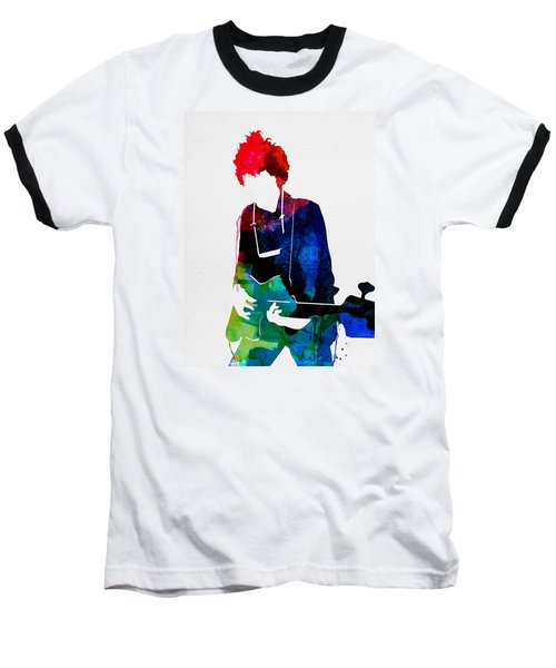 Bob Watercolor Baseball T-Shirt