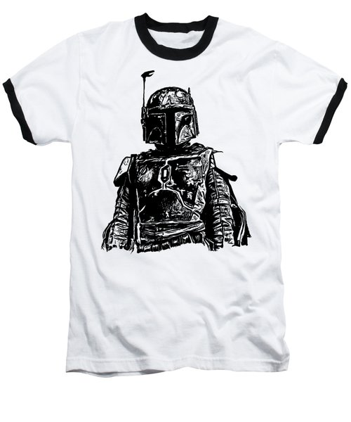 Boba Fett From The Star Wars Universe Baseball T-Shirt