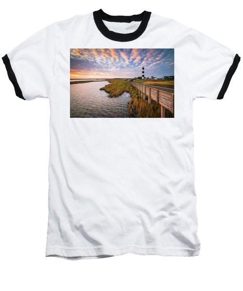 Bodie Island Lighthouse Outer Banks North Carolina Obx Nc Baseball T-Shirt