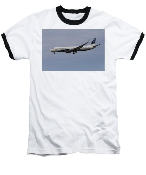 Boeing 737 Private Jet Baseball T-Shirt