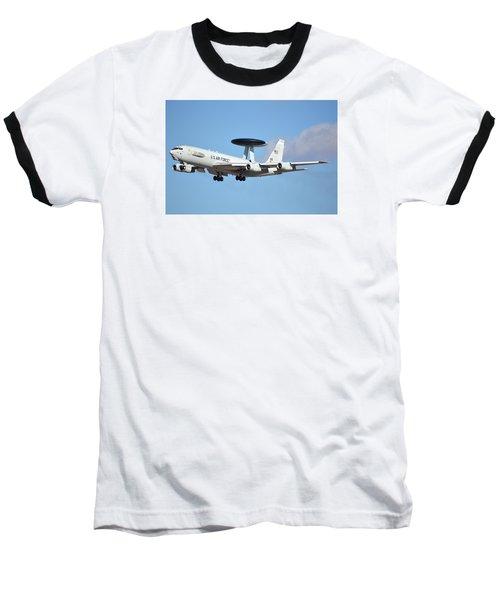 Boeing E-3b 71-1407 Sentry Phoenix Sky Harbor January 9 2015 Baseball T-Shirt