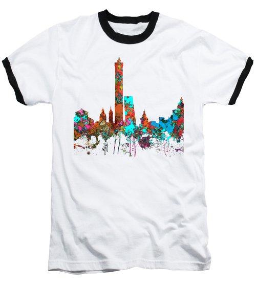 Bologna Italy  Skyline  Baseball T-Shirt
