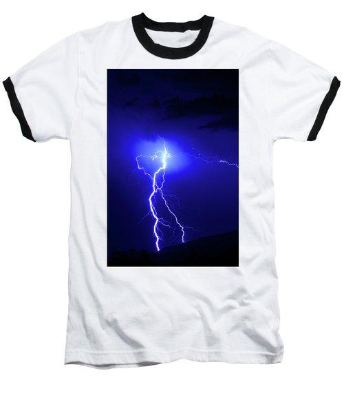 Bolt From The Blue Baseball T-Shirt