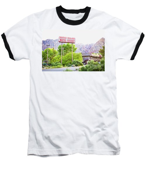 Bonnie Springs Motel Resort Baseball T-Shirt
