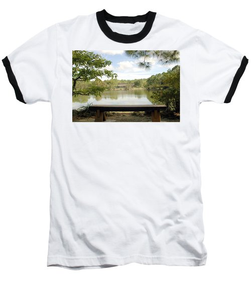 Bonsai Lake Baseball T-Shirt