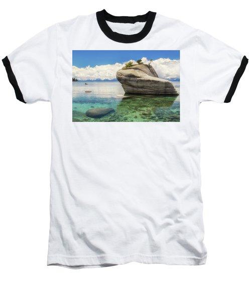 Bonsai Rock Baseball T-Shirt by Marc Crumpler