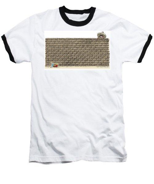 Border Wall Baseball T-Shirt
