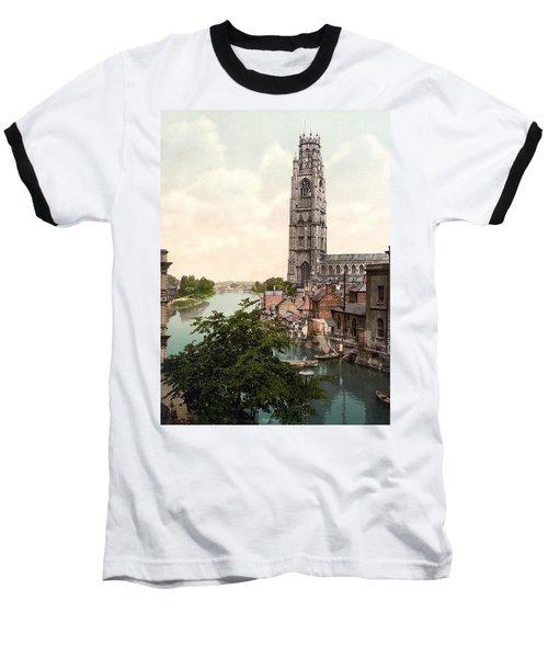 Boston - England Baseball T-Shirt