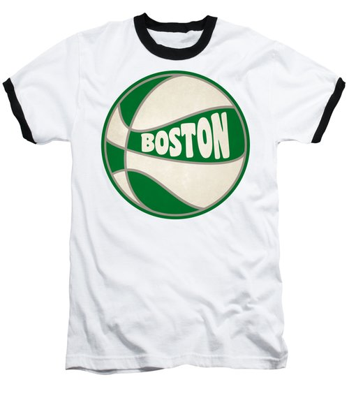 Boston Celtics Retro Shirt Baseball T-Shirt