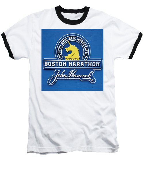 Baseball T-Shirt featuring the photograph Boston Marathon - Boston Athletic Association by Joann Vitali