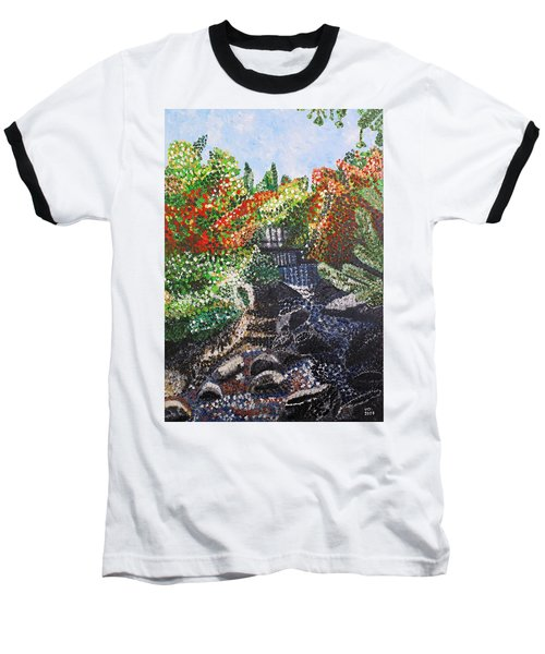 Botanic Garden Merano 1 Baseball T-Shirt