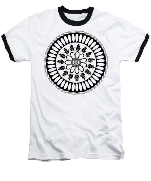 Botanical Ornament Baseball T-Shirt