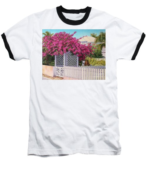 Bougainvillea Crown Baseball T-Shirt